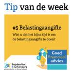Tip van de week #5