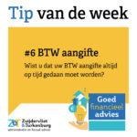 Tip van de week #6