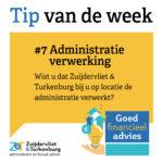 Tip van de week #7