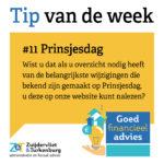 Tip van de week #11