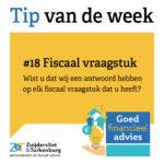 Tip van de week #18