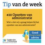 Tip van de week #20