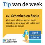 Tip van de week #21