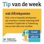 Tip van de week #26