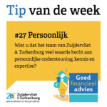 Tip van de week #27