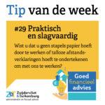 Tip van de week #29