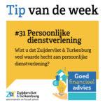 Tip van de week #31
